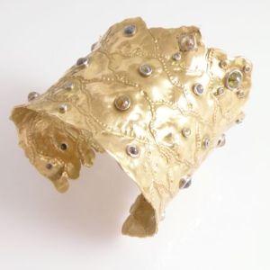 Gold journeys cuff